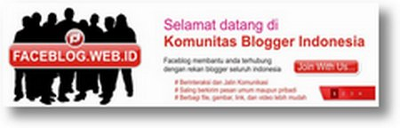 Mari berkomunitas di Faceblog 01
